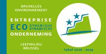 Le campus Erasme a été récompensé du label entreprise éco-dynamique.