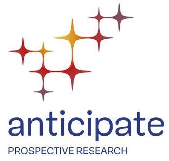 """Logo de l'atcion """"Anticipate"""""""