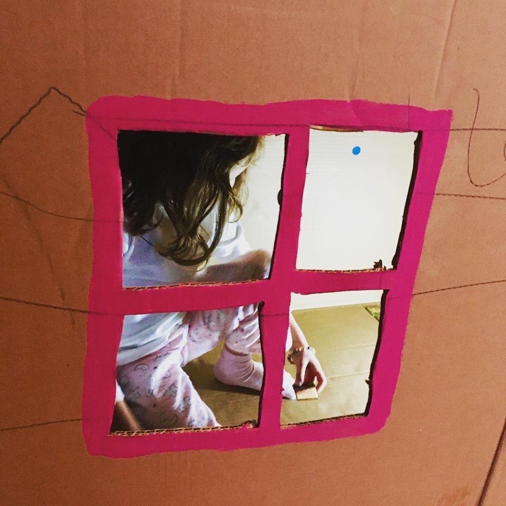 Maison en carton 2