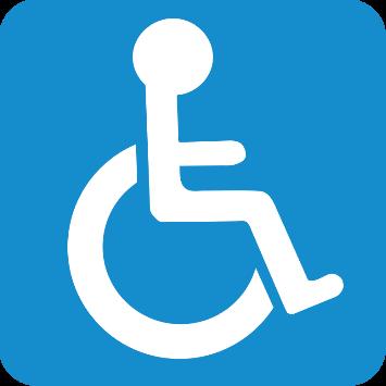 Le campus du Solbosch est accessible aux personnes à besoins spécifiques
