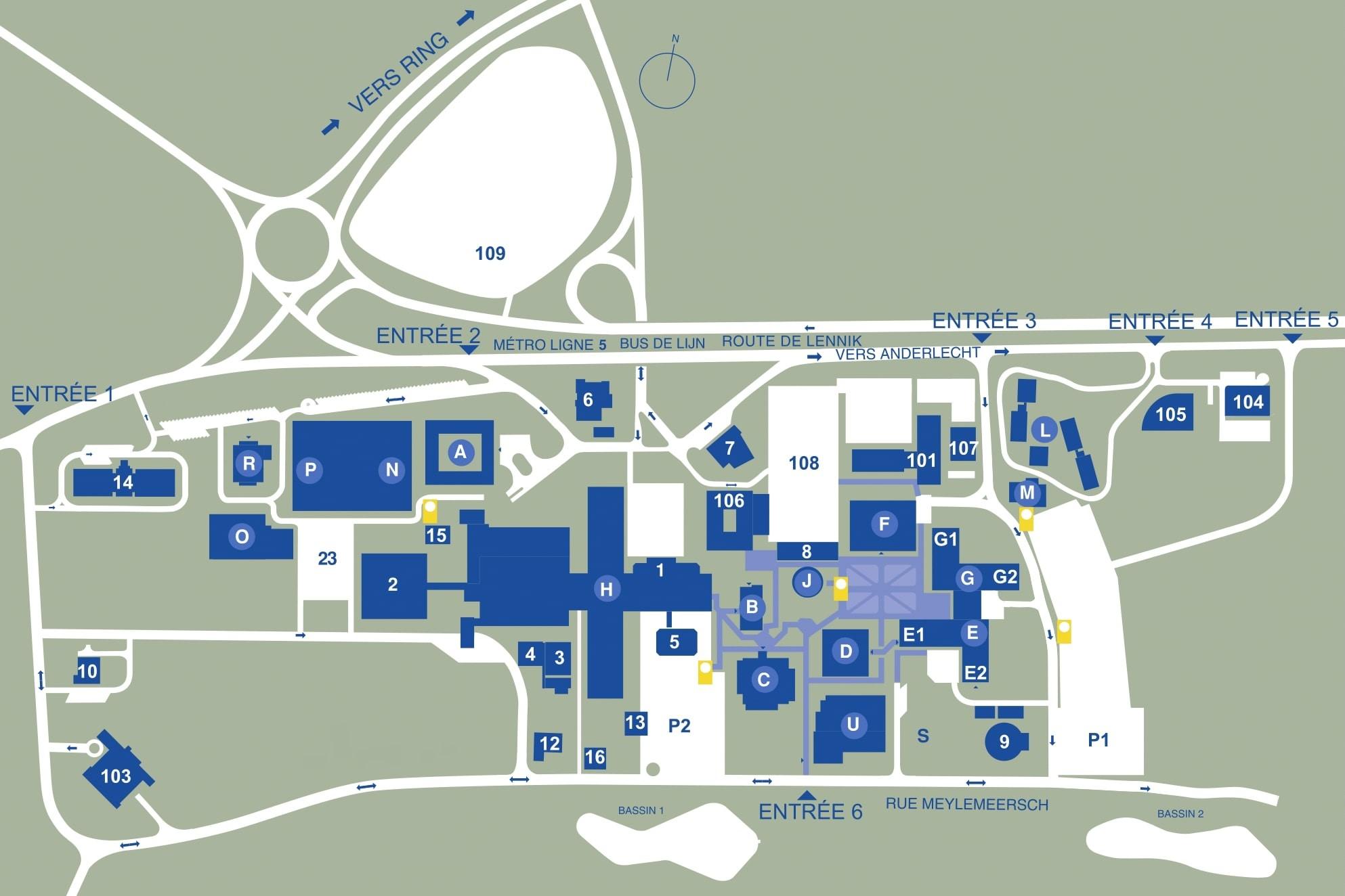 Erasme campus - ULB on