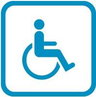 Des emplacement sur les campus de l'ULB sont réservés au stationnement des personnes à mobilité réduite