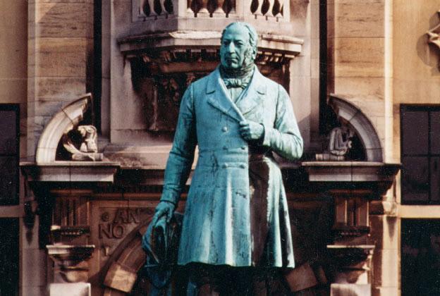 Pierre-Théodore Verhaegen, avocat bruxellois, qui donna l'impulsion nécessaire à la création de l'Université libre de Bruxelles.
